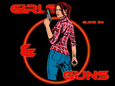 Girls & Guns Glock34
