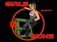 Girls &  Guns Ak105
