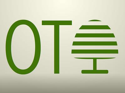 OT Logo green abstract logo