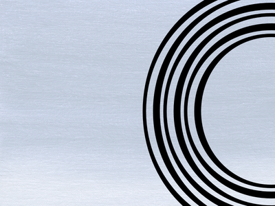 Bending Lines Over A Blue Sunset fontaid sketchapp glyphs partial circles abstract