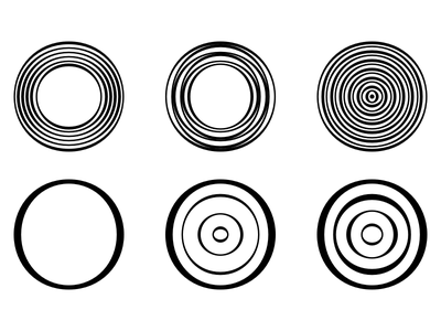 Doodles For Om (FontAid VIII) sound om circles abstract fontaid