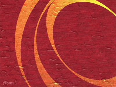 Cellular Motion sketch carmine circular abstract
