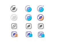 Discovery Icon Set