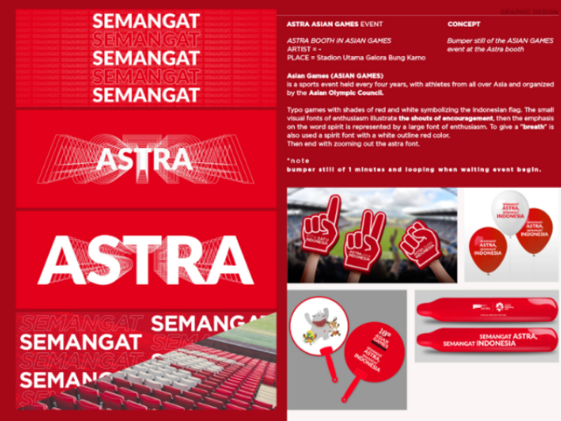 15 astra jakarta gbk spirit games champion balloon fan indonesia asean games