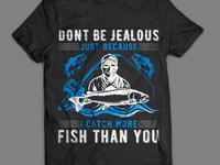 Fishing Tshirt Desig
