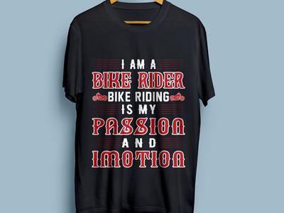 Bike Riding Tshirt Design