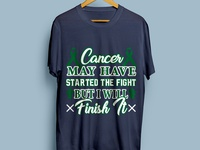 Cancer Servivor t-shirt Design