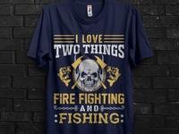 firefighters t-shirt design