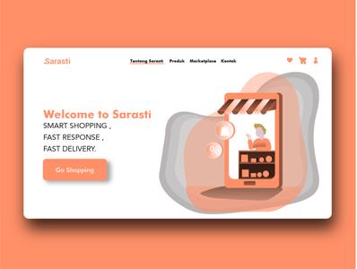 Web Landing Page Sarasti