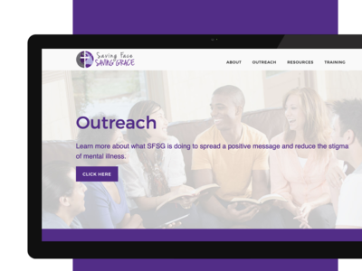 Mental Health Nonprofit Website