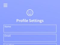 Profile settings dribbble 03