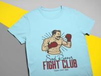Sad Runner T-Shirt Design