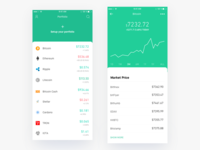 Coinflow - Cryptocurrency Tracking and Portfolio