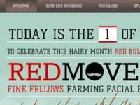 Red Movember - welcome