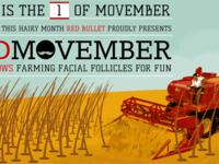 Red Movember - welcome 2