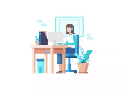 Larissa: Work Illustration Kit