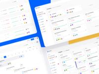 Square Dashboard UI Kit