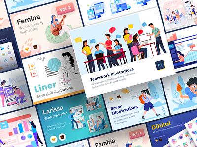 Iconspace Creative Bundle icon pack design bundle creative bundle icon icon set vector illustration kit website design illustration