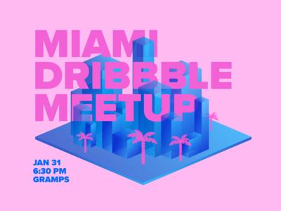 Miami Dribbble Meetup January 2019