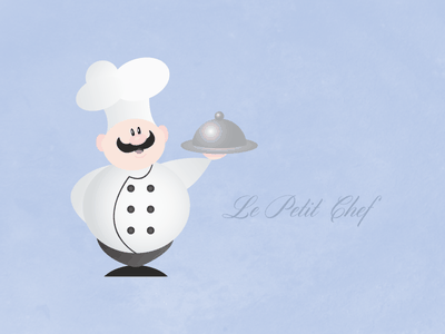 Le Petit Chef chef vector occupation