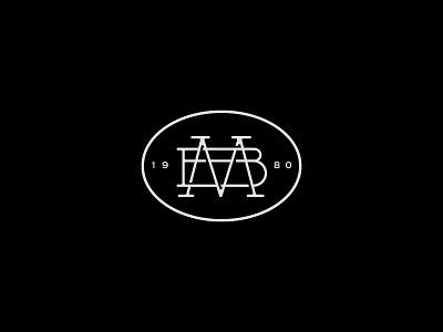 MB - Monogram b m vector vintage monogram typography branding identity icon logo