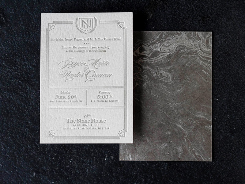 Nj wedding invite dribbb