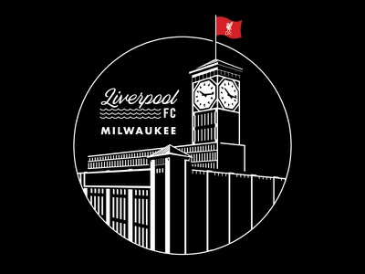 LFC - City Series - Milwaukee allen bradley tower clock landmark milwaukee club football liverpool lfc