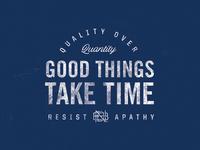 NBDco - Good Things Take Time