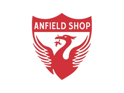 Anfield Shop - Brand Refresh identity branding logo football liverbird anfield shop lfc