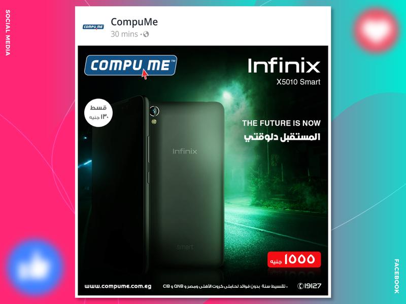 Infinix Mobile - Social Media Offer by Ibrahim Gamal on Dribbble