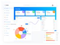 Sinno HR Dashboard expense icon web figma tools app ui design uiux ui human resources dashboard