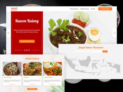Indonesia Kayarasa Landing Page