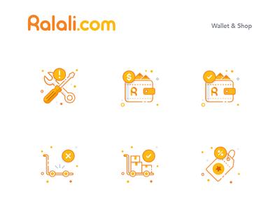 Ralali Icon Wallet & Shop