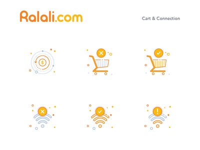 Ralali Icon Cart & Connection