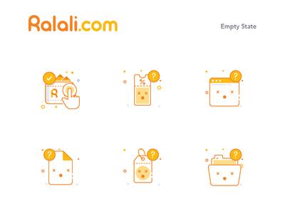 Ralali Icon Empty State