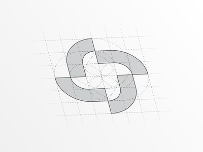 ACC Abstract Logo Design inspiration abstract abstract logo abstract design logo design branding design branding brand iconic logo logomark design grid simplicity iconic logodesign mark symbol icon logo