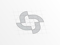 ACC Abstract Logo Design inspiration abstract abstract logo abstract design logo design branding design branding brand iconic logo logomark design grid simplicity iconic logodesign mark symbol icon logo