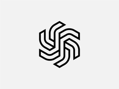 Dynamic Shape Design symbolic logo iconic logo geometrical shapes geometrical geometric line solid dynamic logo dynamic symbolism symbol icon logodesign shape logo design logo