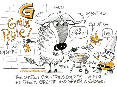 G is for Gnu