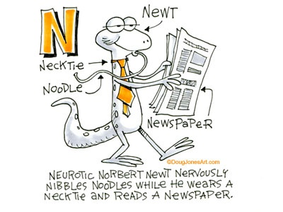 N is for Newt
