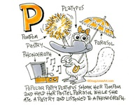 P is for Platypus