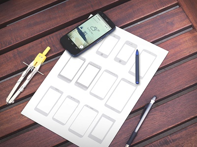 Android mobile app mockup mockup android app
