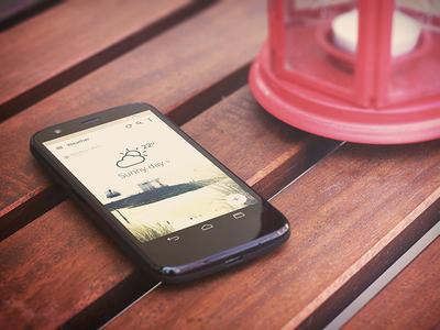 Android app mockup android mockup app