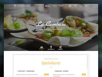 Italian restaurant italian food website restaurant