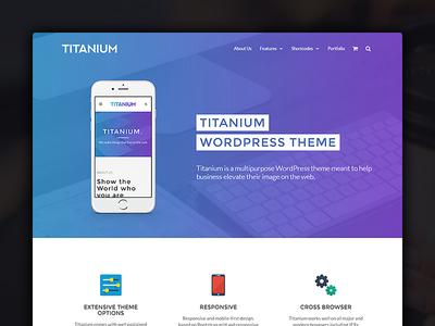 Titanium - Business WordPress theme multilanguage woocommerce responsive multipurpose titanium wordpress theme