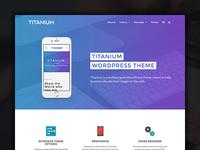 Titanium - Business WordPress theme