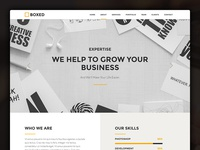 BOXED - website template