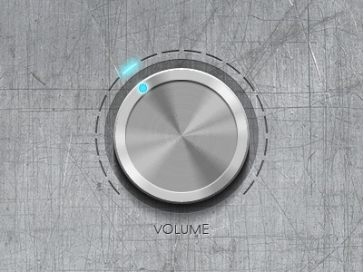 Metallic Volume Button metallic volume