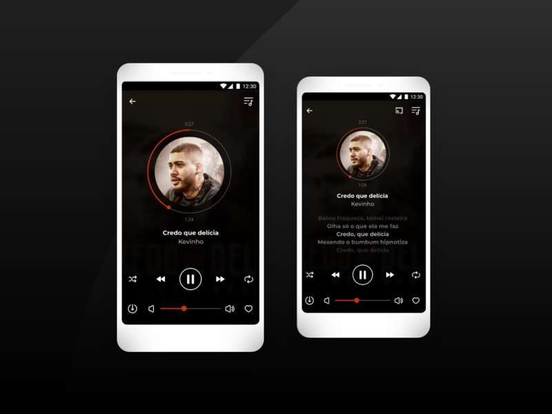 Player UI app design app design player player design uiux music interface design ui player player ui player page ux ui layout