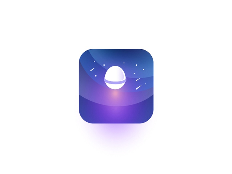 Timespace launcher app icon symbol launcher icon app gradient icon grapicdesign capsule timecapsule time space gradient illustration ui logo branding vector